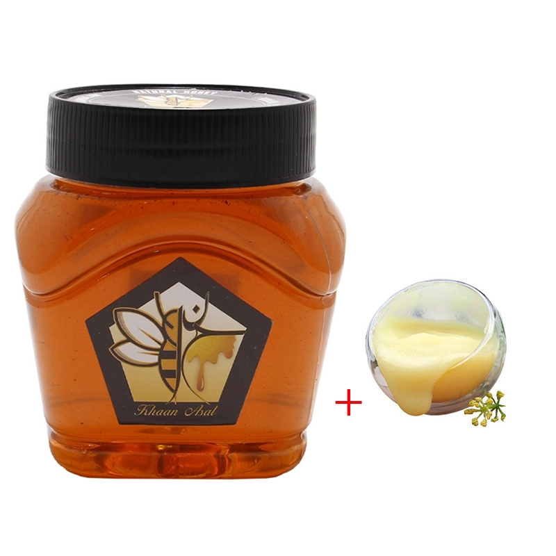 20 گرم ژل رویال مخلوط در یک کیلو عسل آویشن